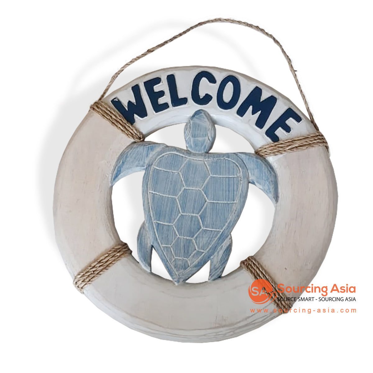 "SKH007 WOODEN DECORATION SIGN "" WELCOME"""