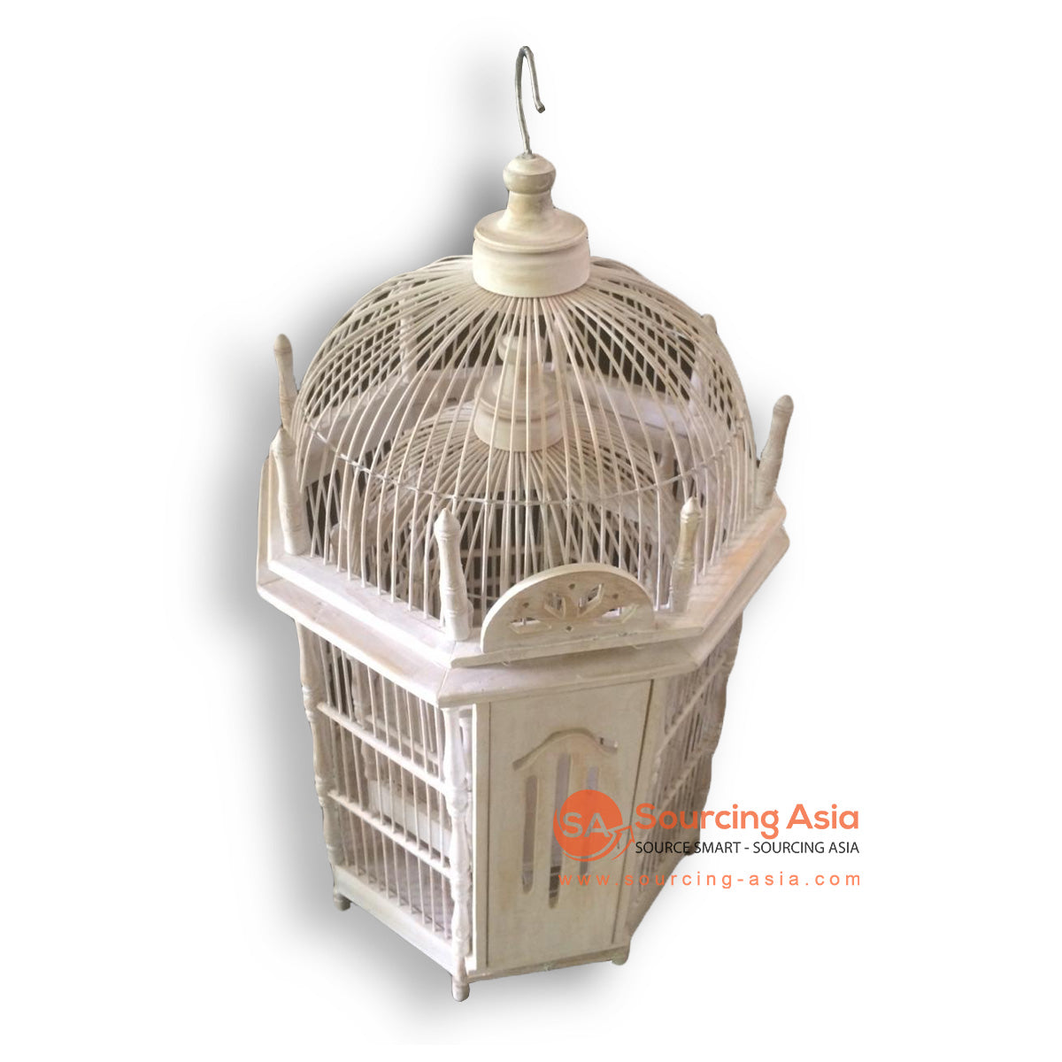 SM052-1 SET OF 2 BIRD CAGES
