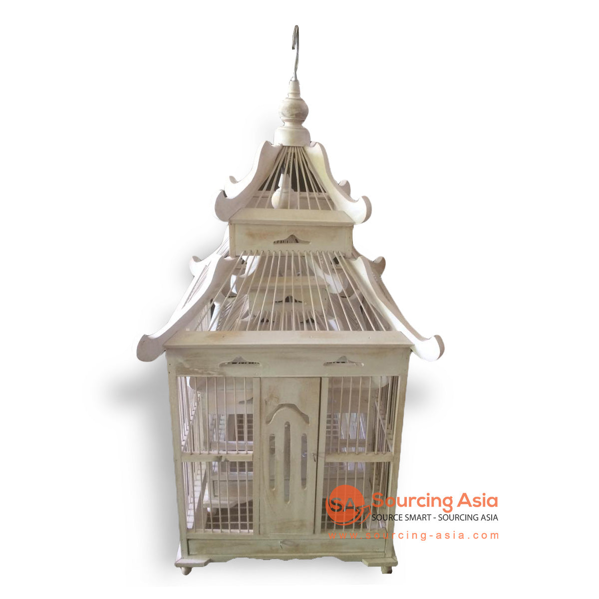 SM053-1 SET OF 2 BIRD CAGES