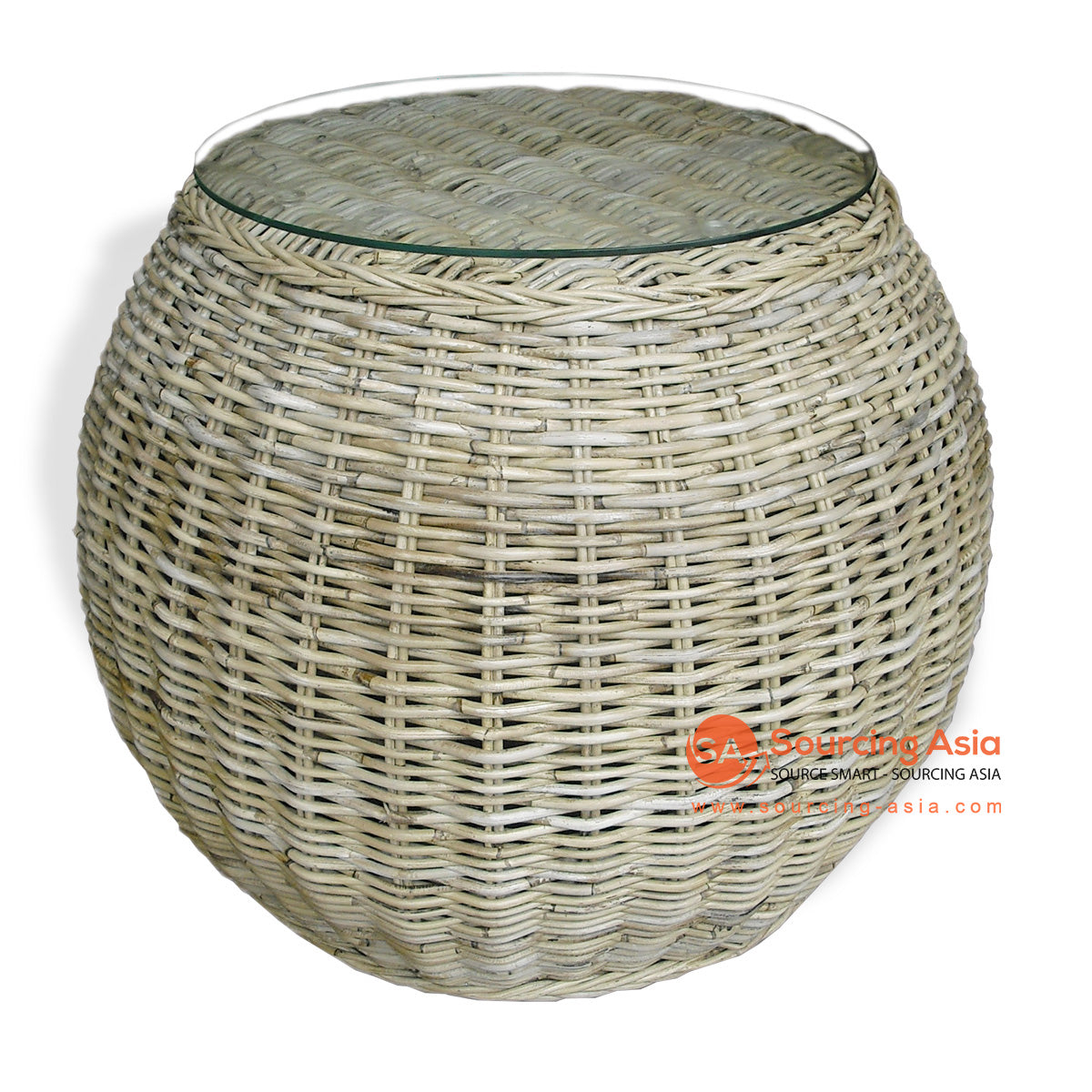 SRF056-KR RATTAN BALL COFFEE TABLE