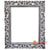 SSU022DB-30X40 WOODEN MIRROR WITH CARVING