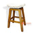 STBN01-65 SWIVEL TOP BANANA FIBER BAR STOOL
