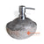 STO036 RIVER STONE SOAP DISPENSER