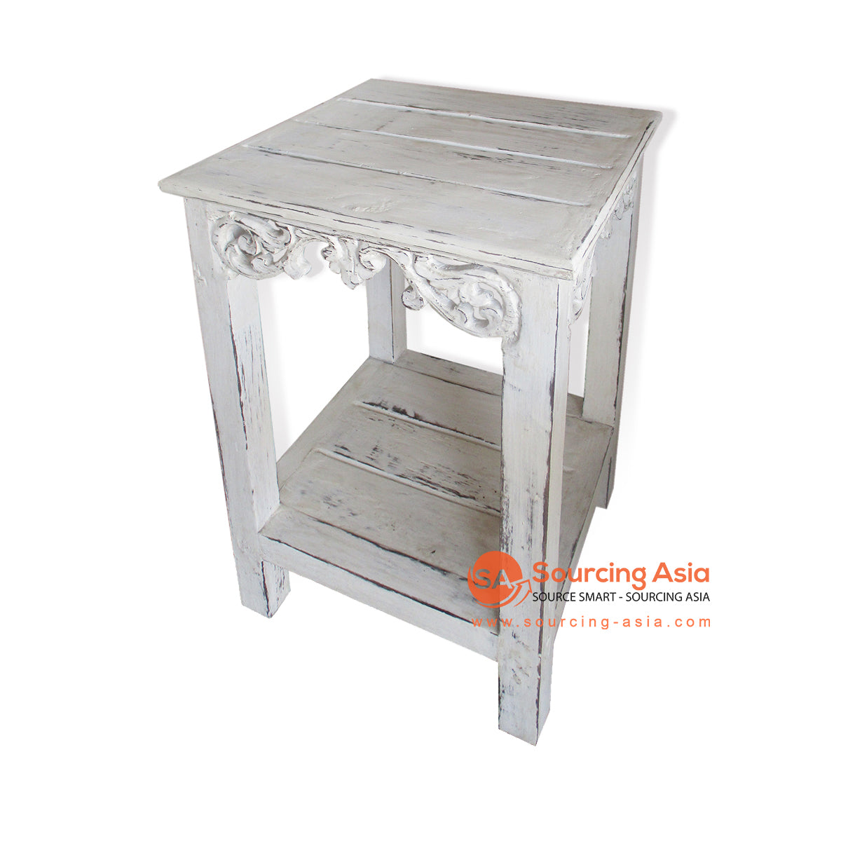 THE007S SIDE TABLE WHITE WASH