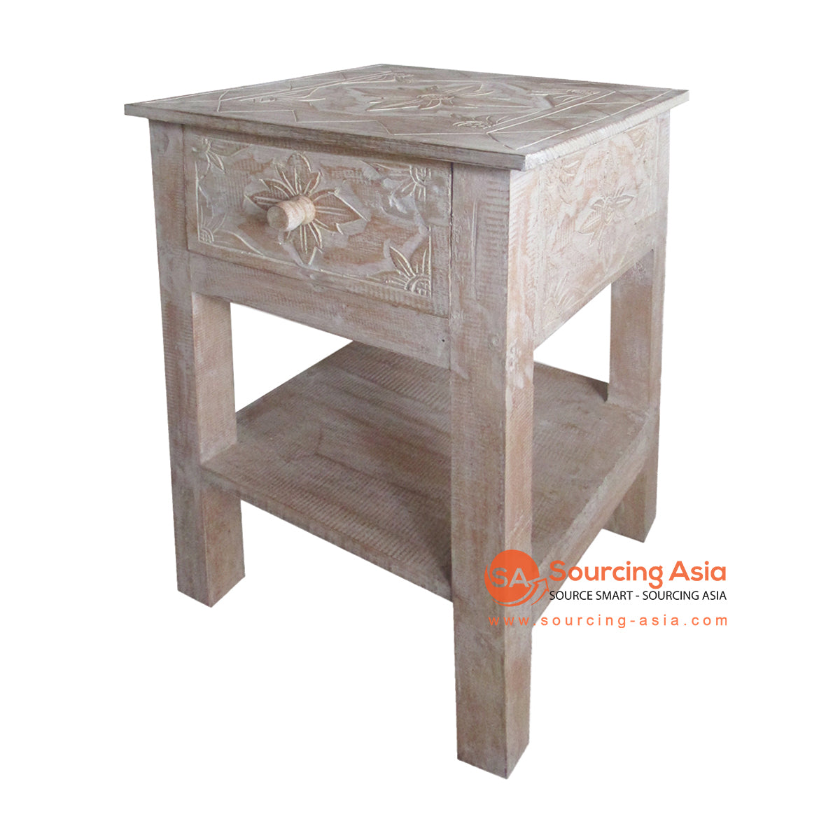 THE080-2 SIDE TABLE 1 DRAWER