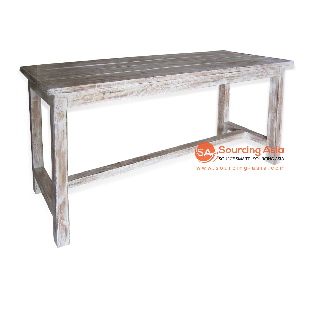 THE135BW CONSOLE TABLE BROWN WASH