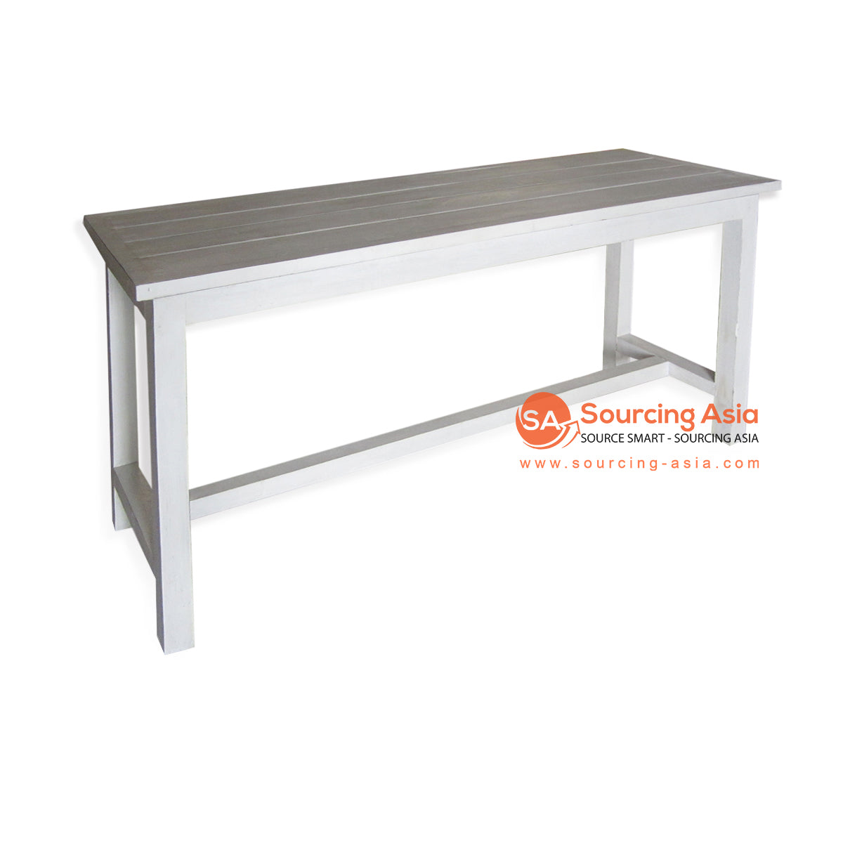 THE135WW CONSOLE TABLE WHITE WASH