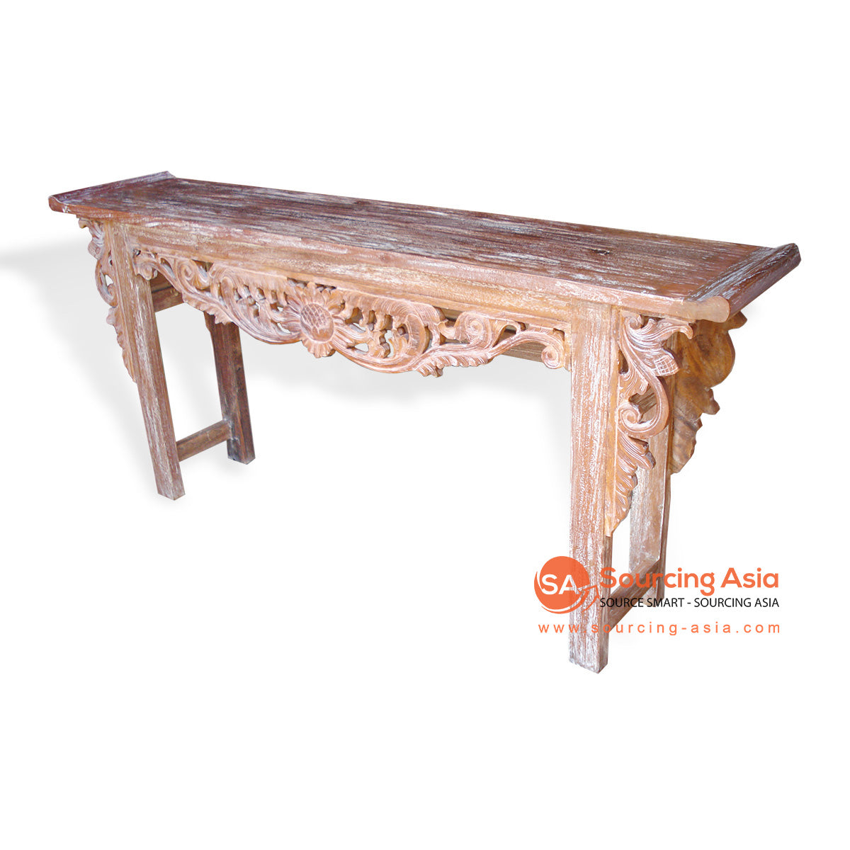 TR00153 CARVED CONSOLE TABLE