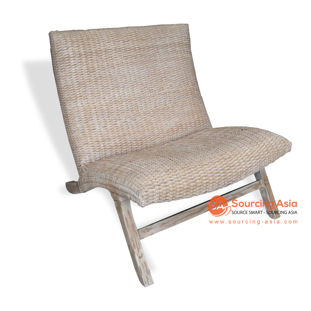 TRJ007 RATTAN LAZY CHAIR