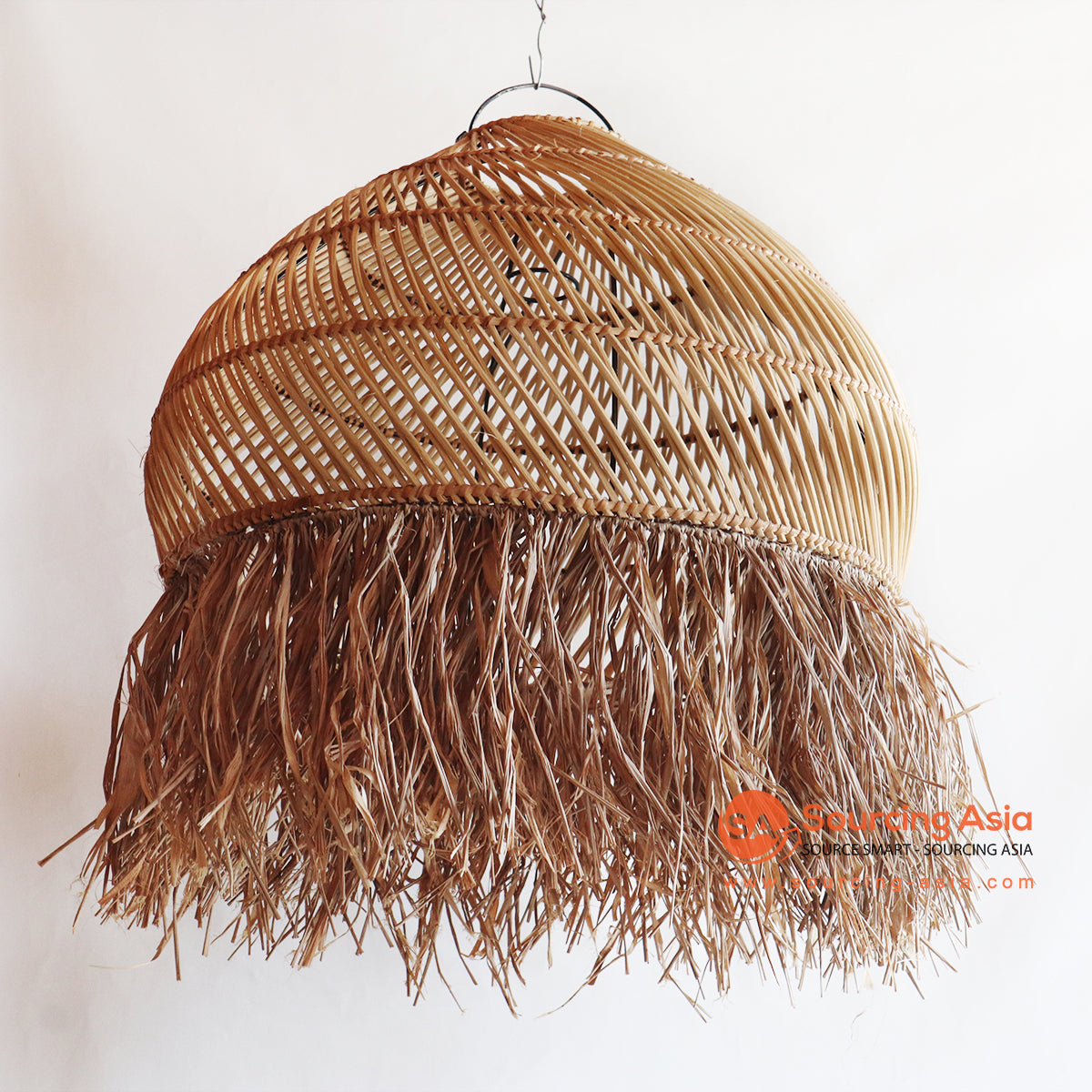 YLLC045 RATTAN HANGING LAMP WITH FRINGE
