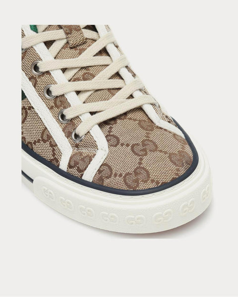 Gucci Tennis 1977 Beige High Top Sneakers