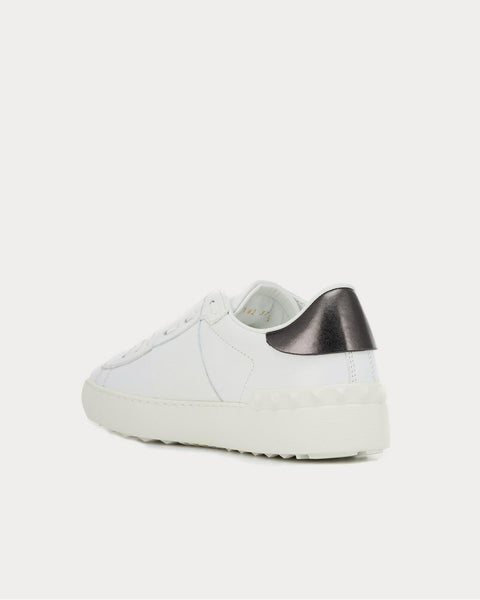 Valentino Garavani VLTN leather White Low Top Sneakers