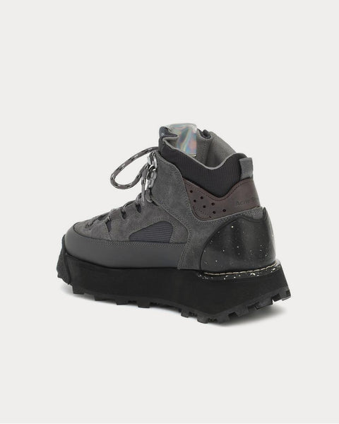 Trekking platform Slate Grey High Top Sneakers
