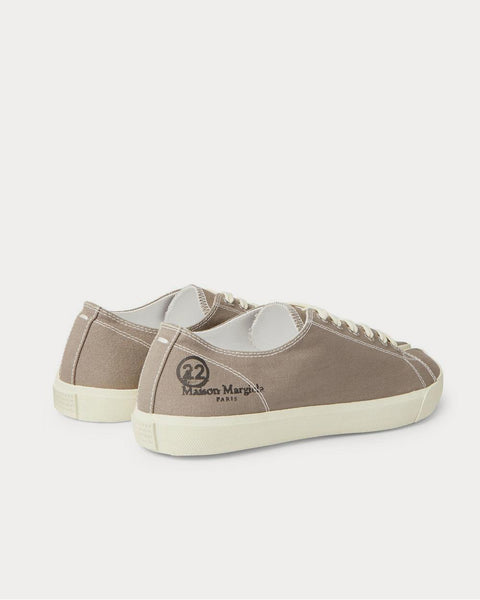 Tabi Split-Toe Canvas Brown low top sneakers