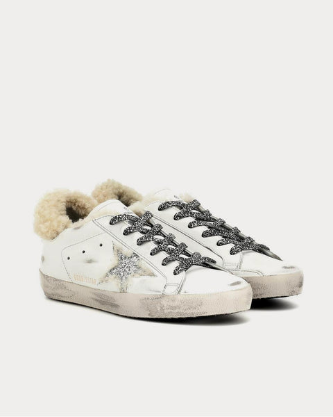 Superstar shearling-lined Silver Star White  Low Top Sneakers