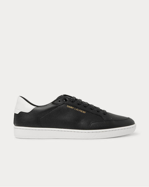 Court Classic SL/10 Perforated Leather  Black low top sneakers