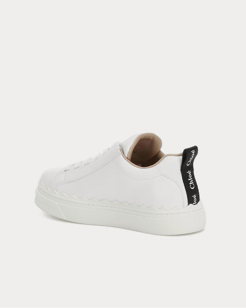 Lauren leather White Low Top Sneakers