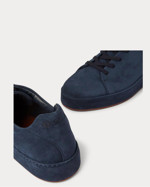 Nuages Suede  Navy low top sneakers