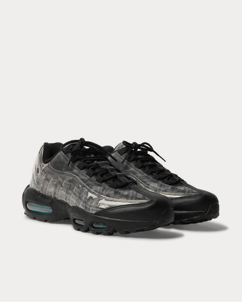 Air Max 95 DNA Panelled Leather, Mesh and Perspex  Black low top sneakers