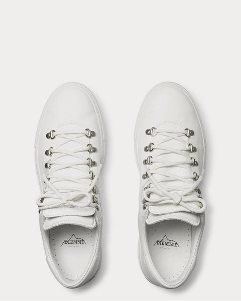 Marostica Leather  White low top sneakers