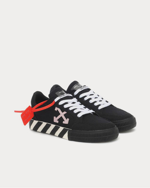 Arrow 2.0 canvas Black Pink Low Top Sneakers