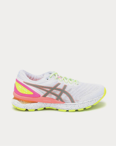 GEL-NIMBUS 22 Summer Lite Show White Running Shoes