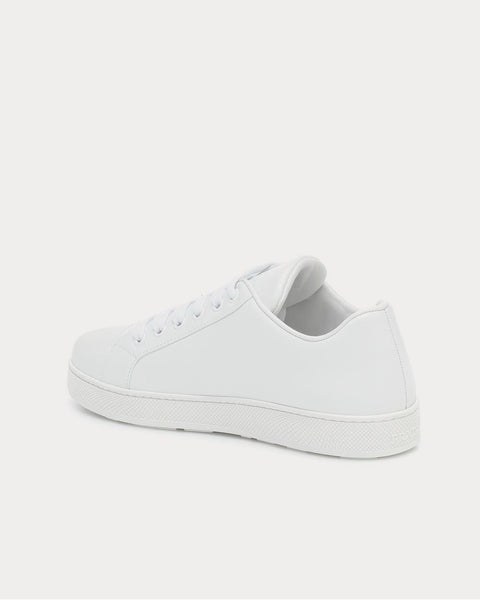 One leather white Low Top Sneakers