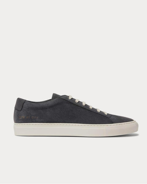 Achilles Suede  Gray low top sneakers