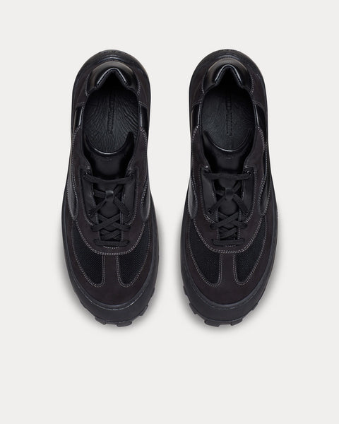 Strand 180-Lo Black Low Top Sneakers