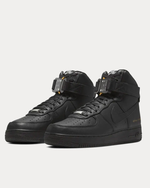 Air Force 1 Black High Top Sneakers