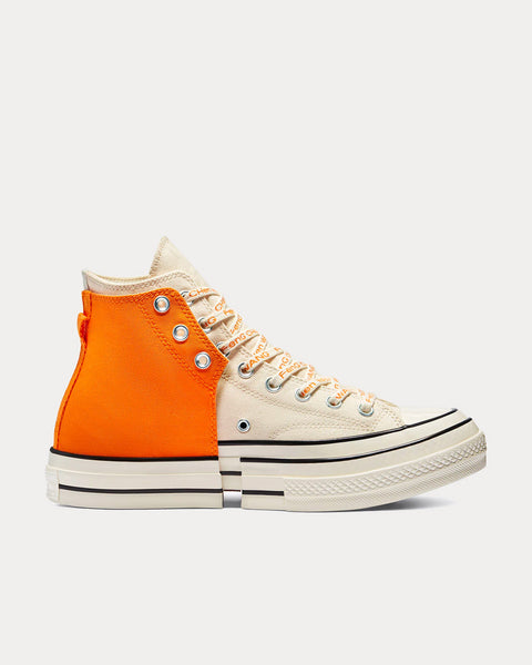 Chuck Taylor Hi 2 In 1 Orange High Top Sneakers