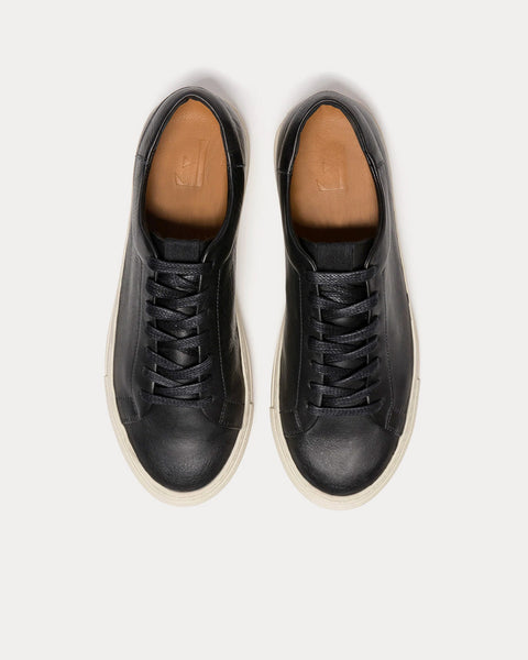 Stockholm Black Low Top Sneakers