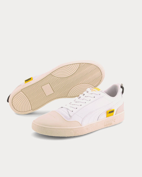 Ralph Sampson White Low Top Sneakers