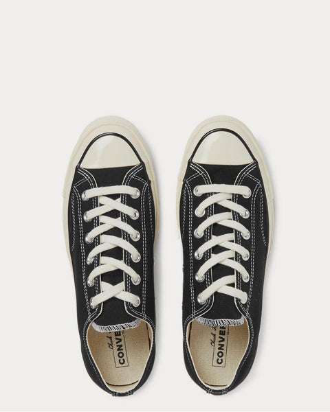 Chuck 70 Canvas  Black low top sneakers