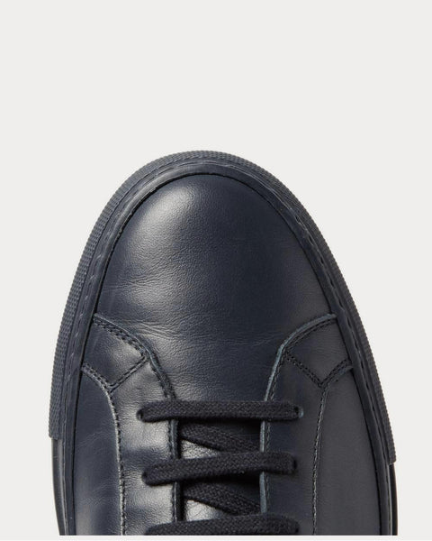 Original Achilles Leather  Navy low top sneakers