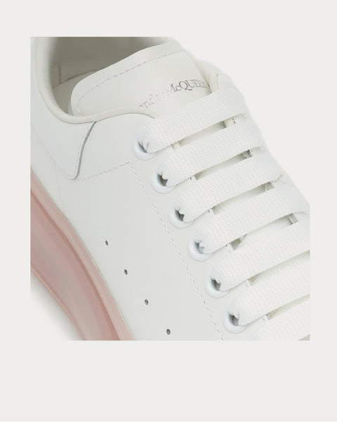 Bubble leather White Low Top Sneakers