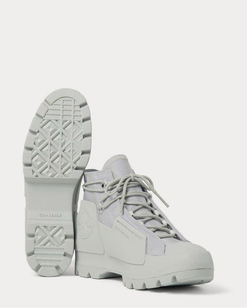 Ripstop and Rubber High-Top  Gray high top sneakers