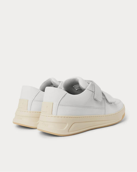 Leather  White low top sneakers
