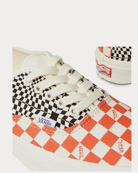 OG Authentic LX Checked Canvas  White low top sneakers