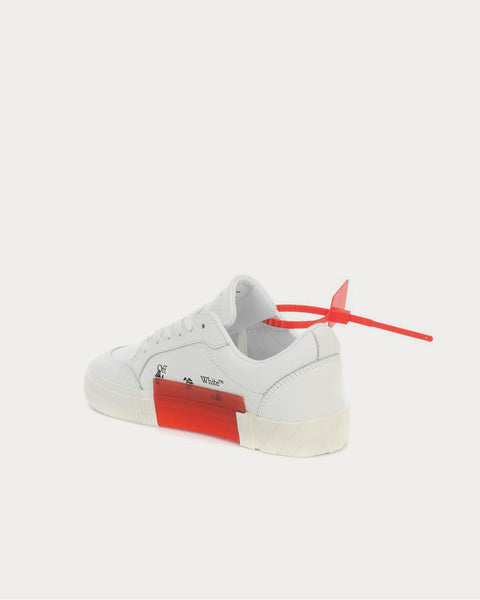 Low Vulcanized leather White Low Top Sneakers