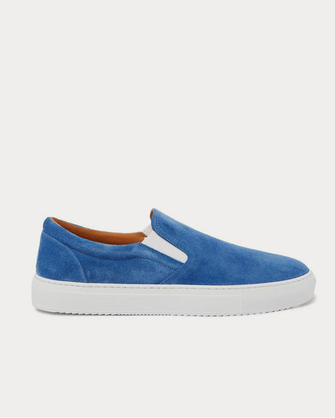 Larry Suede Slip-On  Blue low top sneakers