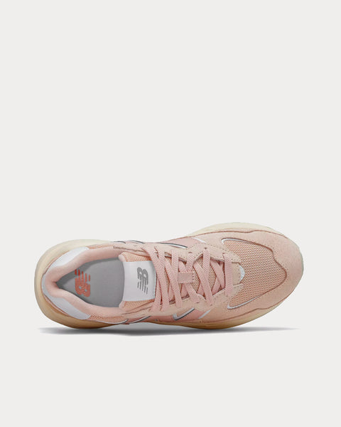 57/40 Rose Water with Team Cream Low Top Sneakers