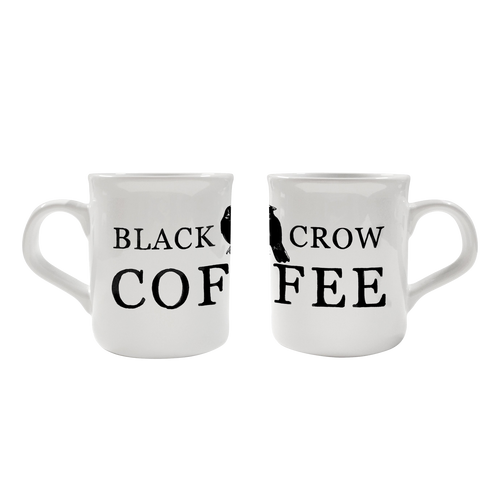 Black Crow Coffee | Porcelain Mug