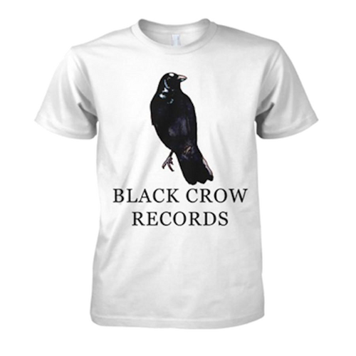 Black Crow Records | T-Shirt (White)