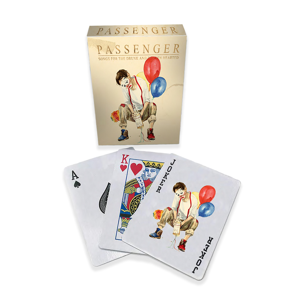 Passenger | Drunk and Broken Hearted Playing Cards | Passenger Official Store