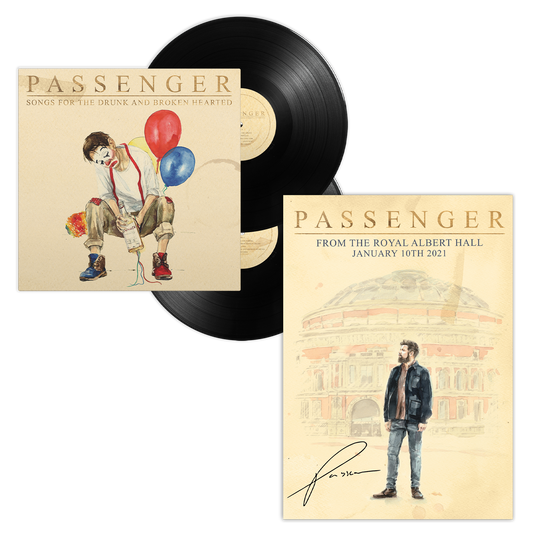 From the Royal Albert Hall | Signed Poster & LP Bundle