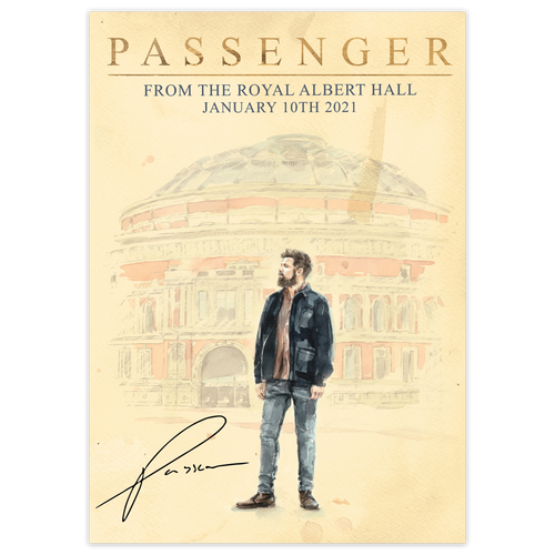 From the Royal Albert Hall | Signed Poster