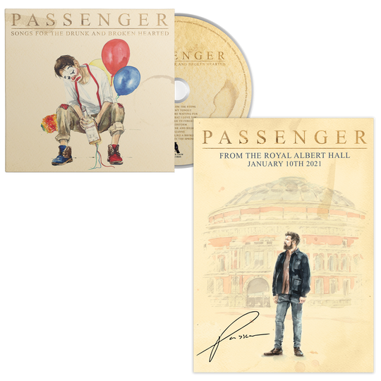 From the Royal Albert Hall | Signed Poster & CD Bundle
