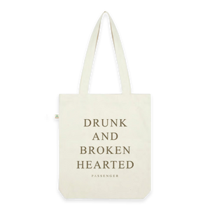 Drunk And Broken Hearted Natural Tote Bag