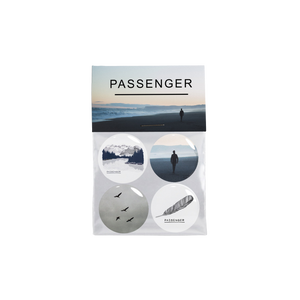 Passenger | Young As The Morning Old As The Sea | Badge Pack